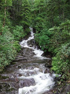 御嶽山の滝